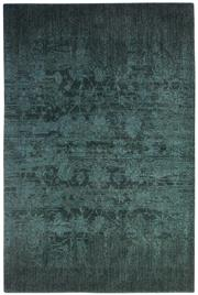 Sale 8651C - Lot 42 - Colorscope Collection; NZ Wool and Pure Silk - Dark Green Classic/Floral Rug, Origin: China, Size: 160 x 230cm, RRP: $1899