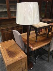 Sale 8740 - Lot 1534 - Turned Walnut Standard Lamp (5480)