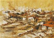 Sale 8867A - Lot 5097 - Ahuva Sherman (1926 - ) - Jerusalem 60 x 81cm