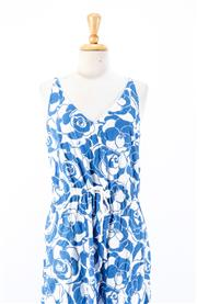 Sale 8891F - Lot 79 - A Coop by Trelise Cooper floral printed cotton sundress with a flared mermaid hem, size medium