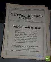 Sale 8537 - Lot 2382 - Collection of The British Medical Journal & The Medical Journal of Australia, 20s