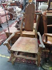 Sale 8593 - Lot 1015 - Organic Form High Back Chair