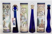 Sale 8644A - Lot 39 - Three bottles of liqueur including Irish cream in printed cylinder containers, unopened, ex Giubileo, 2000, Venezia.