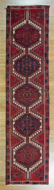 Sale 8665C - Lot 88 - Persian Shiraz 320cm x 76cm