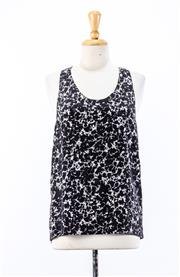 Sale 8891F - Lot 43 - An Alexander Wang printed silk singlet, size small