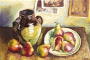 Sale 9055A - Lot 5070 - Irene Little - A Bowl of Pears 39 x 49 cm (frame: 60 x 80 x 4 cm)