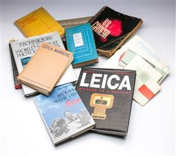 Sale 9093 - Lot 11 - A Collection Of Photography Reference Books