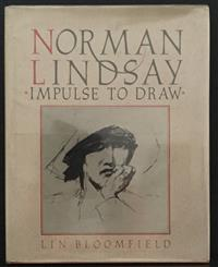 Sale 8176A - Lot 62 - Norman Lindsay  Impulse to Draw  by Lin Bloomfield. Bay Books 1984. Hardback, dustjacket, black and white plates, 223 pages.