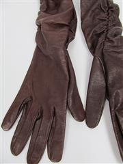 Sale 8451B - Lot 81 - Laurel Leather Elbow-Length Gloves, size 8