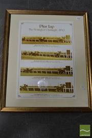 Sale 8503 - Lot 2062 - Pharlap 1930 Print