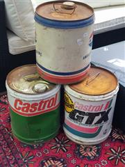 Sale 8672 - Lot 1083 - Collection Of Oil Cans