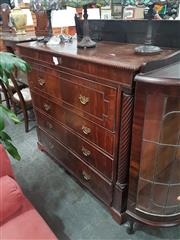 Sale 8740 - Lot 1085 - Mahogany Secretaire