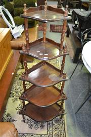 Sale 8093 - Lot 1043 - 5 Tier Whatnot