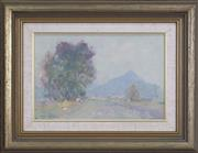 Sale 8342A - Lot 306 - Allan Hansen (1911 - 2000) - Misty Day 20 x 30cm