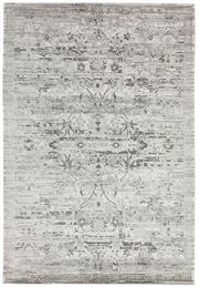 Sale 8651C - Lot 45 - Colorscope Collection; NZ Wool and Pure Silk - Cream/Silver Erased Rug, Origin: China, Size: 160 x 230cm, RRP: $1899