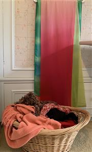 Sale 8510A - Lot 89 - A large quantity of scarves including pashmina and silk