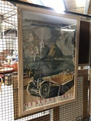 Sale 8759 - Lot 2053 - Original Mercedes Poster