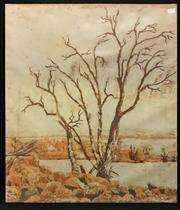 Sale 8949 - Lot 2030 - Artist Unknown The Barren Tree acrylic on cotton, 71 x 61cm, unsigned -