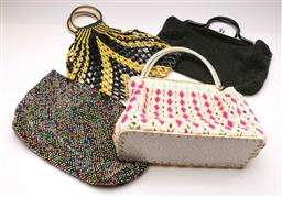 Sale 9119 - Lot 110 - A group of recycled plastic handbags