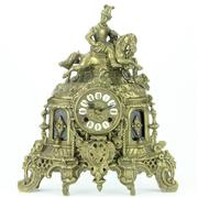 Sale 8264 - Lot 48 - Franz Hermle Son German Metal Clock
