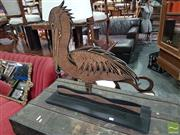 Sale 8554 - Lot 1076 - Timber Pelican Cut Out