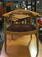 Sale 8643 - Lot 1101 - Set of Six Danish-Style Dining Chairs including two carvers