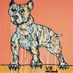 Sale 8853A - Lot 5054 - Yosi Messiah (1964 - ) - Baby Dog 102 x 102cm