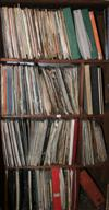Sale 7670A - Lot 775 - Six shelf lots of 33rpms including jazz and blues
