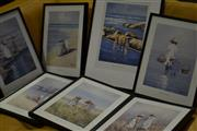Sale 8497 - Lot 2339 - Set of 7 Framed John Vander Prints