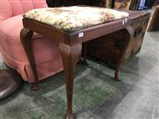 Sale 8782 - Lot 1715 - Timber Piano Stool