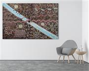 Sale 8848A - Lot 5082 - Reggie Saltan Pentjarte - Milky Way 119 x 189.5cm (stretched and ready to hang)