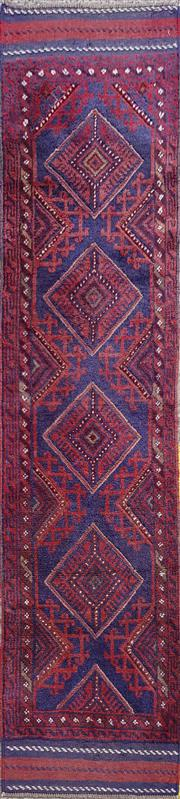 Sale 8971 - Lot 1050A - Persian Sumac Runner (243 x 60cm)