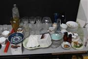 Sale 8139 - Lot 2372 - Collection of Crystal and Glass Wares inc Austrian Ceramics
