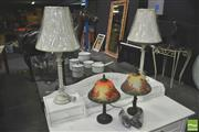 Sale 8302 - Lot 1020 - Pairs of Table Lamps x 2