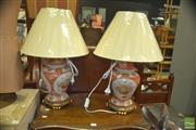 Sale 8331 - Lot 1086 - Pair of Oriental Table Lamps (4530)