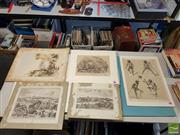 Sale 8548 - Lot 2082 - An Assorted Quantity of (6) Early Prints (various sizes)