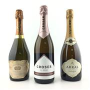 Sale 8611W - Lot 75 - 3x NV Sparkling Wines - Croser Rose, Grant Burge Brut & Arras Brut Elite