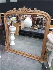 Sale 8637 - Lot 1002 - Large French Style Gilt Framed Mirror