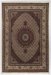 Sale 8800C - Lot 40 - A Persian Mood From Khorasan Region Very Fine 100% Wool And Silk Inlaid Pile, 201 x 300cm