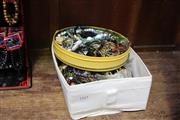 Sale 8139 - Lot 2345 - 2 Boxes of Various Costume Jewellery
