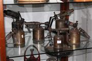 Sale 8160 - Lot 91 - Vintage Blow Torches