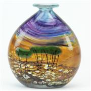 Sale 8372 - Lot 94 - Marc Kalifa Terra Australis Series Art Glass Vase