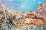 Sale 8549A - Lot 5038 - Harriet Sophia Westernbower (1961 - ) - Planetesimals and Other Errant Memories  50 x 75cm