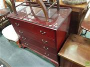 Sale 8566 - Lot 1265 - Reproduction Chest of 4 Drawers (90 x 90 x 48)