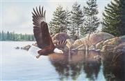 Sale 9028 - Lot 2051 - A Large collection of decorative prints by Derk Western & Wildlife -