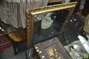 Sale 8331 - Lot 1346 - Gilt Framed Bevelled Edge Mirror