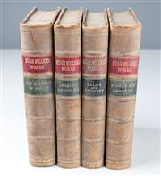 Sale 8518A - Lot 92 - Four volumes by Miller, Hugh; The Headship of Christ & the Rights of the Christian People, 1875; Leading Articles on Various Subj...