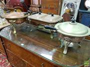 Sale 8465 - Lot 1029 - Collection of 3 Vintage Cooking Sets