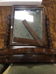 Sale 8740 - Lot 1520 - Mahogany Dressing Mirror
