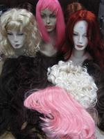 Sale 7926A - Lot 1747 - Assorted Wigs with display heads